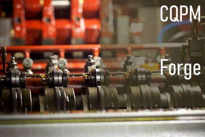 CQPM règleur de machine de frappe à froid