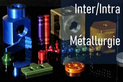 Traitements de surface des alliages d'aluminium et de magnésium